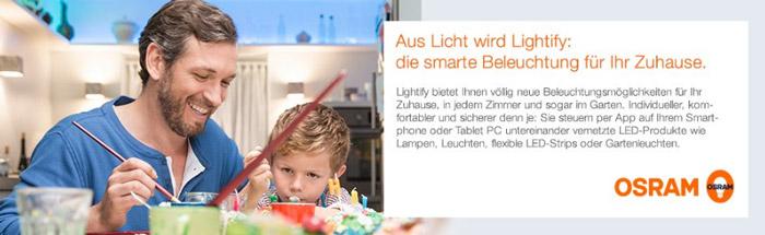OSRAM Lightify Smart Home Produkte