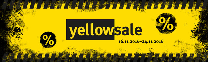 Comtech Yellow Sale