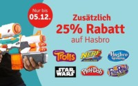 myToys Hasbro Artikel mit 25% Rabatt