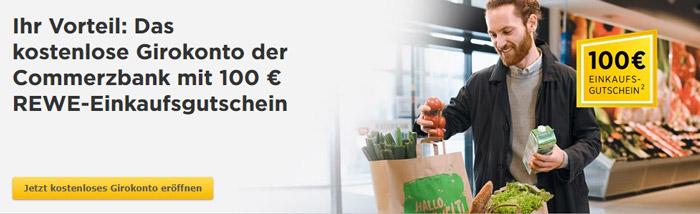 Commerzbank Rewe Gutschein