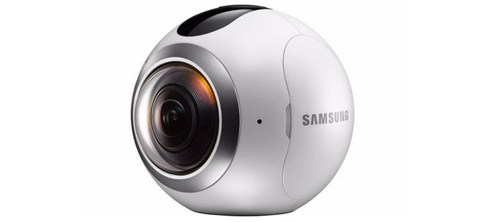 Samsung Gear 360 Grad Virtual Reality Kamera