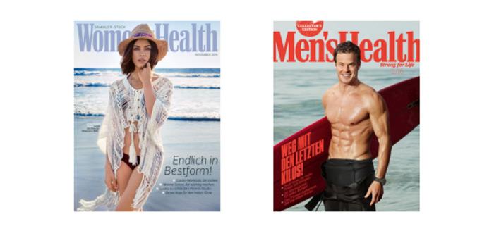 Womens Health oder Mens Health Gratis