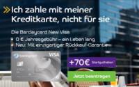 Kostenlose Barclaycard New Visa Kreditkarte