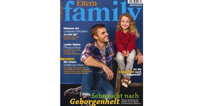 eltern family jahresabo f r 54 40 amazon gutschein als pr mie. Black Bedroom Furniture Sets. Home Design Ideas