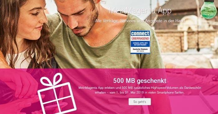 Telekom gratis Datenvolumen