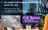 Barclaycard New Visa Amazon Gutschein