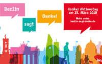 Berlin sagt Danke - Kostenloser Eintritt