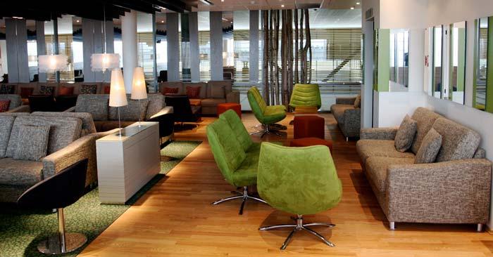 Flughafen Lounge