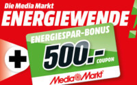 Media Markt Energiewende Aktion