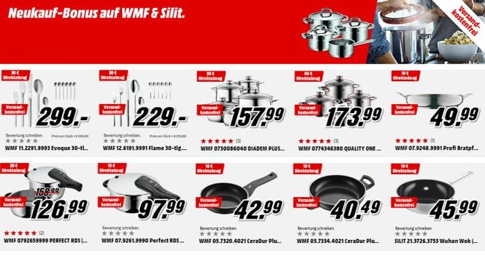 Media Markt Neukauf-Bonus WMF & Silit