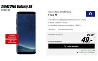 o2 Free M Tarif + Galaxy S8