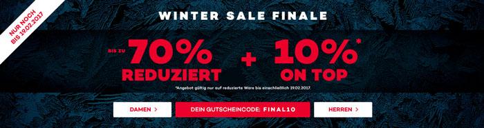 Planet Sports Winterschlussverkauf
