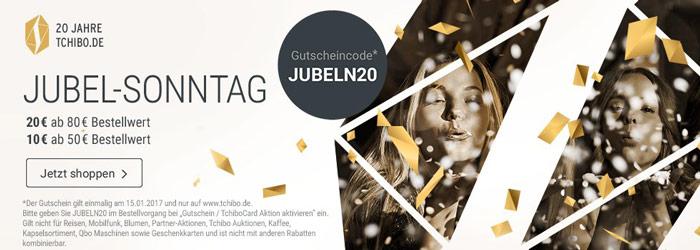 Tchibo Jubel-Sonntag