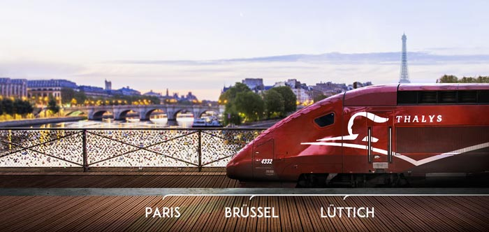 Thalys Bahntickets Aktion