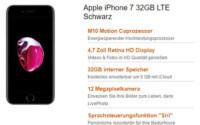 Apple iPhone 7 + Vodafone Smart L Giga Tarif