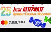Alternate Gutschein Masterpass