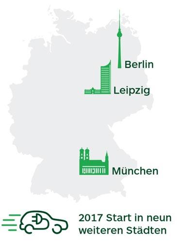 CleverShuttle Städte