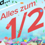 50% Rabatt auf alles bei dress-for-less + 10% Newsletter-Gutschein!