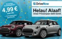 DriveNow Karnevalsaktion