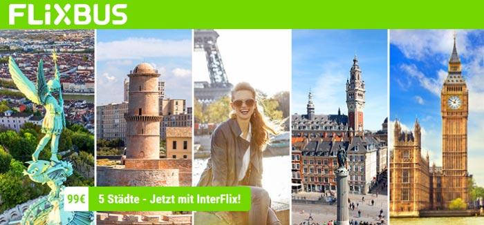 Flixbus Interflix Ticket