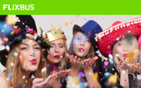 Flixbus Karneval Aktion