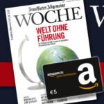 3 Ausgaben Frankfurter Allgemeine Woche kostenlos + 5€ Amazon Gutschein!