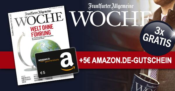 Frankfurter Allgemeine Woche Amazon