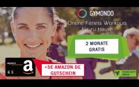 Gymondo kostenlos testen + Amazon Gutschein