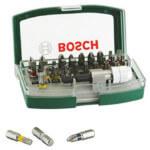 Bosch Schrauberbit-Set (32-teilig) + Schraubendreher für 11,99€
