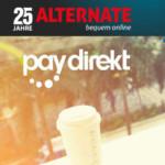 25€ Alternate Gutschein bei Zahlung mit Paydirekt (70€ Mindestbestellwert)