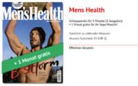 4 Ausgaben Mens Health