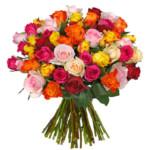 37 bunte Rosen bei BlumeIdeal für 21,98€ inkl. Versand