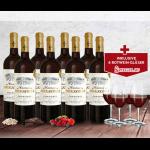8 Flaschen Château Brugayrole 2015 + 4 Spiegelau Gläser für 39,90€