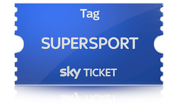 Gratis Sky Supersport Tagesticket