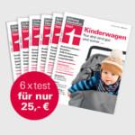 Halbjahresabo Stiftung Warentest oder Finanztest + 4x Victorinox Brötchenmesser + Familien-Spezial für 25€