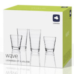 2x Leonardo Wave Gläserset (12-teilig) für 14,58€ inkl. Versand