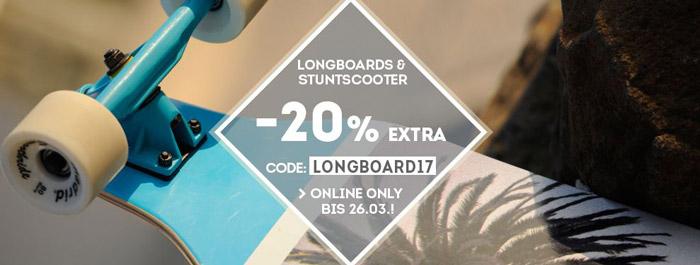 Longboard Sale bei Sportscheck