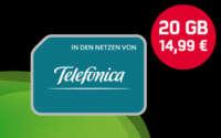mobilcom-debitel Telefonica Allnet 20 GB Tarif
