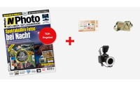 Zeitschrift N-Photo Jahrsabo + kalahari Fototasche