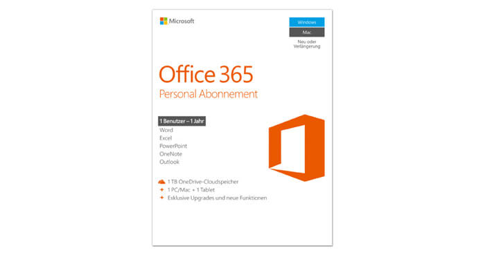 Office 365 Personal Abo