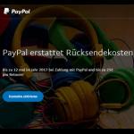 PayPal erstattet Rücksendekosten