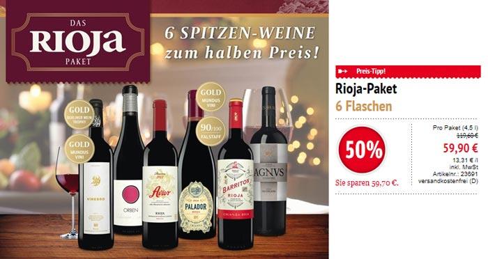 Rioja Wein Paket