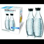 2x SodaStream Ersatzflaschen aus Glas (Crystal oder Penguin) für 14,99€