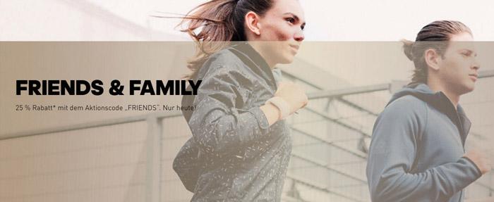 25% Adidas Family & Friends Gutschein