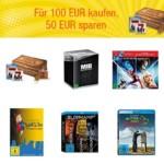 Amazon Blu-rays oder DVDs mit 50€ Rabatt