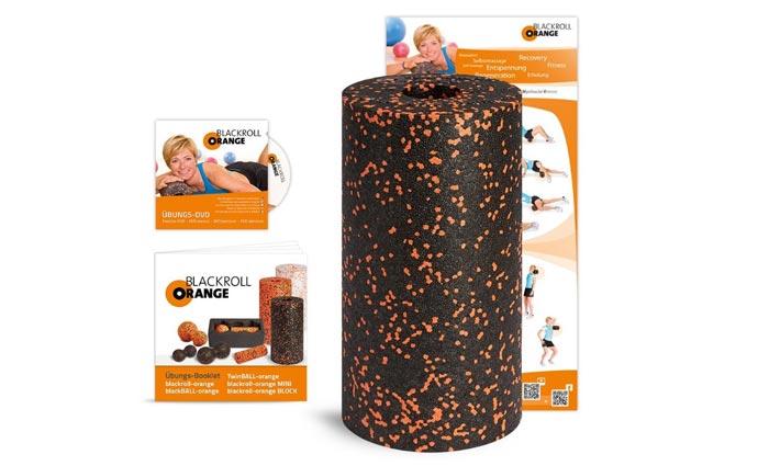 Blackroll Orange Faszienrolle