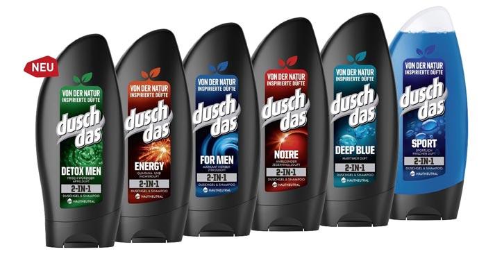 Duschdas For Men 2 in 1 Duschgel & Shampoo