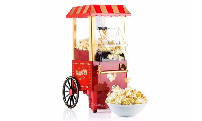 Gadgy Retro Popcorn Maschine