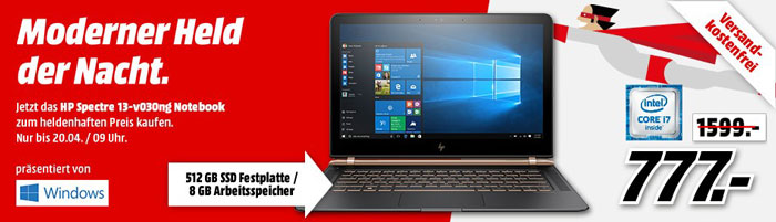 HP Spectre 13-v030 Notebook