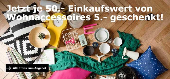 IKEA Gutschein auf Wohnaccessoires